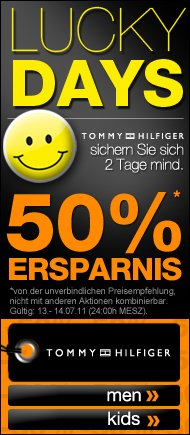 50% auf Tommy Hilfiger bei dress-for-less.de