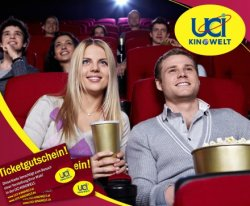 5x Premium-Kinoerlebnis in der UCI KINOWELT für 28,90€ statt 54€