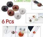 6 Kabelhalterungen für 1,03€ bei ebay (versandkostenfrei!)