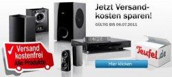Aktion bei Teufel.de –  bis 6. Juli die Versandkosten sparen!