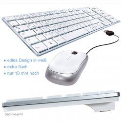 BAZOO iBOARD mit optischer Mouse Desktop Tastatur Set