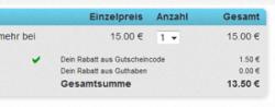 bis 15.00 Uhr 10% Rabatt auf Deals bei dailydeal.de