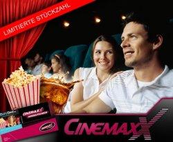 CinemaxX – Ticket & 1/2 l Softdrink & Popcorn für  9,95 Euro statt 17,90 Euro
