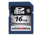 EXTREMEMORY 16GB SDHC Speicherkarte Class 10 für 18,99€ inkl. Versand