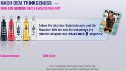 Flasche Puschkin Wodka kaufen = 1 Ausgabe Playboy gratis