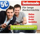 Ganz ohne Groupon und Co. 5€ Gutschein bei Lieferando bekommen