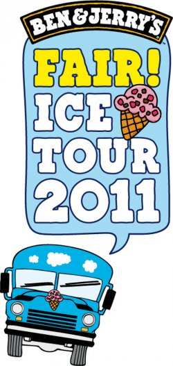 Gratis Eis in 35 Städten – Ben & Jerry´s Fair Ice Tour 2011!!!