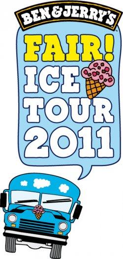 Gratis Eis in 35 Städten – Ben & Jerry´s Fair Ice Tour 2011!!!