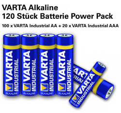 Heute gibt`s 120  Batterien für 29,90 statt 144€ incl. Versand bei Groupon