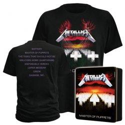 Metallica, Guns n Roses, Ramones Tshirt je 9,99 in Alu Geschenkbox