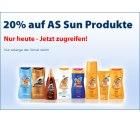 Niemehr sonnenbrand! 20% auf AS Sun Produkte! + Gratis Marbello Doppelkeks bei Schlecker