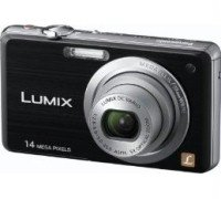 PANASONIC LUMIX DMC-FS11 14.1 MP DIGITALKAMERA SCHWARZ 99,99€ inkl. Versand!!!!