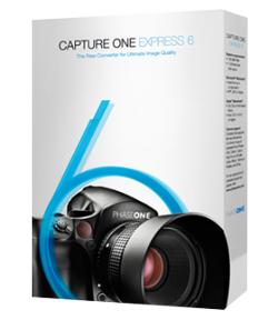 Phase One Capture One Express 6 (RAW-Konverter) Gratis-Lizenz und Download kostenlos