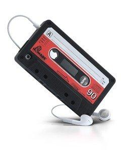 Retro Kassetten Hülle für iPhone 4 4G aus Silikon