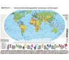 Riesen-Poster-Weltkarte kostenlose bestellen!