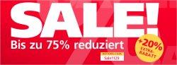 SALE bei neckermann.de mit bis zu 75% Rabbat + teilweise 20% Extrarabatt mit Code