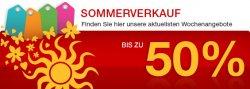 Sommerverkauf bei SONY – bis 50% sparen – 10 Tage, 10 Angebote