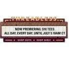 Threadless Sale: Massig tolle Motiv T-Shirts für jeweils 10$ anstatt 20$!