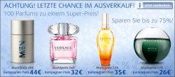 100 Parfüms bis zu 75% reduziert bei Jaléa.de – bis 29.08.