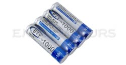 4 Stück ladbare 1.2V 1000MAH AAA Batterien für 1,19€