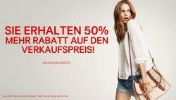 50% auf alle Sale-Artikel bei H&M
