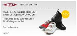 50%  auf MBT – Schuhe. Verkaufsaktion bei eBay