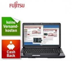 51€ Cashback auf Fujitsu Lifebook Serien – z.B. Lifebook AH530 mit 2x 2.13 GHz, 2 GB RAM, 250 GB für 193€ inkl. Versand!
