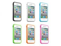 6x iPhone 4 BUMPER Tasche Cover Case + 2x SCHUTZFOLIE für nur 7,49€ inkl. VSK