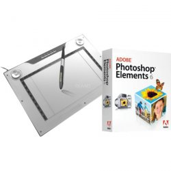 Aiptek Grafiktablett inkl. Photoshop Elements 6 nur 72,90 € inkl. VSK!