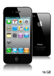 APPLE IPHONE 4 black – 16 GB nur 519 €