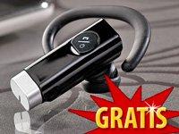 """Callstel Bluetooth-Headset """"Black Tube"""" im Wert von 29,90€ gratis nur VSK"""
