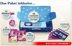 Catsan Willkommenspaket 2011 gratis + 5,50 € Coupons