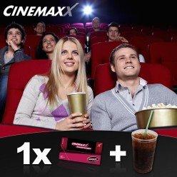 Cinemaxx Gutscheine 2 Stück + 2 Getränke für 5€