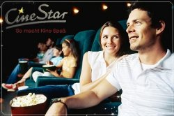 Cinestar 4x Eintritt + 4x Popcorn zusammen nur 28€