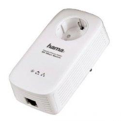 D-LAN Adapter: Hama Powerline Set 85 Mbps im Doppelpack 27,95€ (statt59,99) oder einzeln 14,85€ (statt 39,99€)
