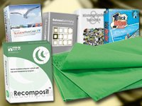 Foto- & Bildbearbeitungs-Suite 2011 (PC-DVD) mit Greenscreen Gratis
