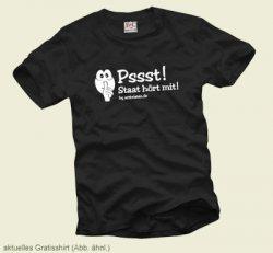 Gratis T-Shirt zu aktuellem Thema (nur Versand: 4,90 €)