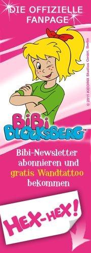 gratis Wandtatoo von Bibi Bloxberg für die Kinder