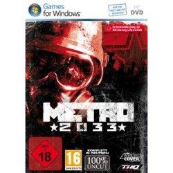 HAMMER: Metro 2033 (uncut) für nur 2,50 € (NUR HEUTE)