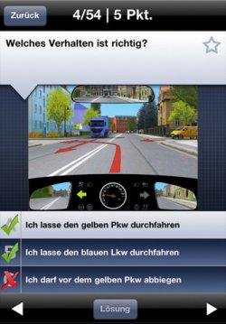 Kostelnose Führerschein-App im Wert von 12,99 €