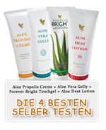 Kostenlos Aloe Vera Produkte