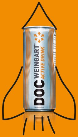 Kostenloser Energy-Drink DOC WEINGART ACTIVE DRINK
