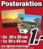 Media Markt: 30×45 Poster für nur 1 Euro