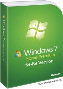Microsoft Windows 7 Home Premium 64Bit 49,90 (Versandkostenfrei)