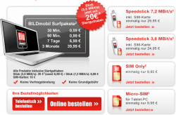 Mobiles Internet Prepaid mit Surf-Stick für 4,95€