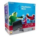 PlayStation 3 320 GB mit Move Starter Pack [PEGI] + Gran Turismo 5 für 289 €