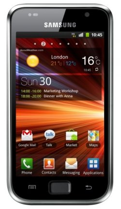 Samsung Galaxy S Plus I9001 (8GB) Metallic Black 330,80€ inkl. Versand