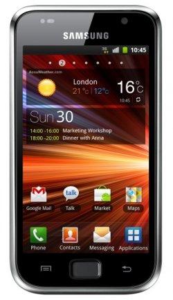 Samsung Galaxy S Plus I9001 (8GB) Metallic Black 330,80€ inkl. Versand