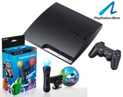 Sony PlayStation 3 320 GB + PlayStation Move-Starter-Paket für wahnsinnige 269,00 €!!