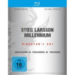 Stieg Larsson – Millennium Trilogie (Director´s Cut) auf Blu-ray 24,97€